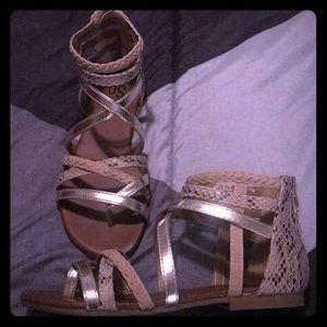 So Gladiator Sandals with Original Box